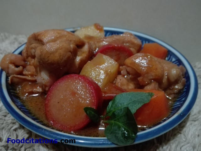 Chicken Caldereta Recipe