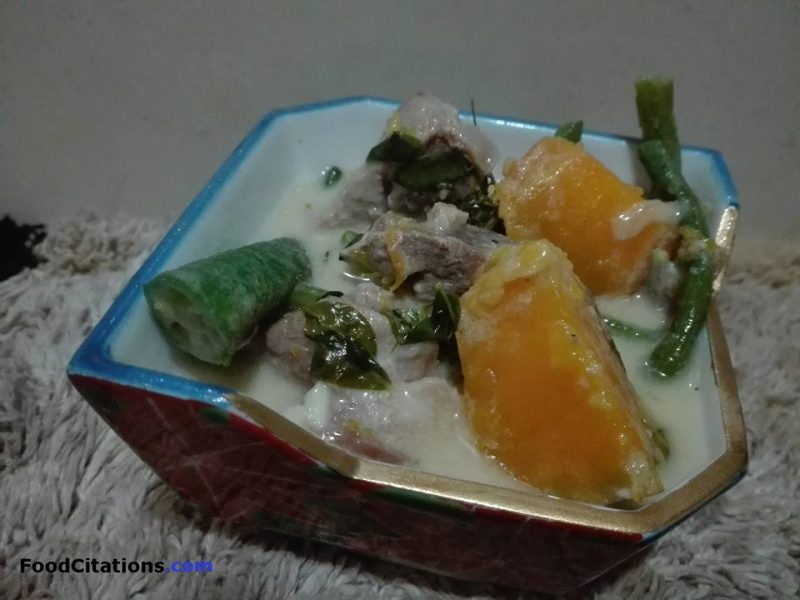 Ginataang Sitaw At Kalabasa Recipe