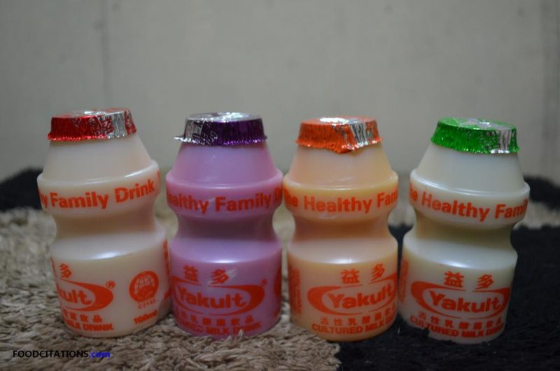 Food Find: Flavored Yakult from Singapore