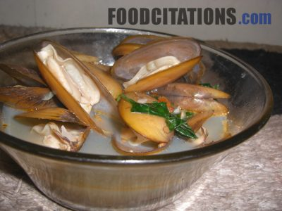 Steamed Paros Recipe