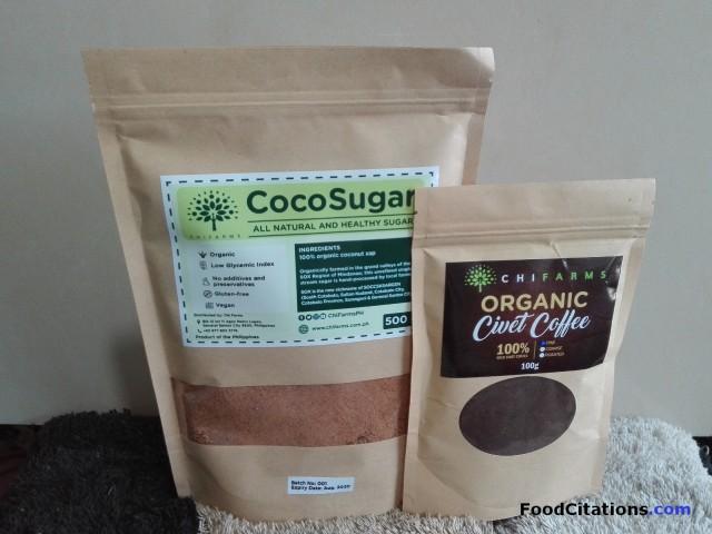 Food Find: ChiFarms Civet Coffee and Coco Sugar