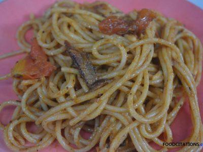 Tuyo Spaghetti Recipe