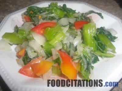 Mustard and Radish Salad Recipe