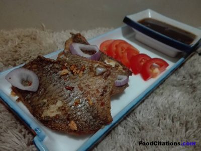 Tilapia Steak with Red Wine Sauce Recipe