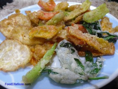 Vegetable Tempura Recipe