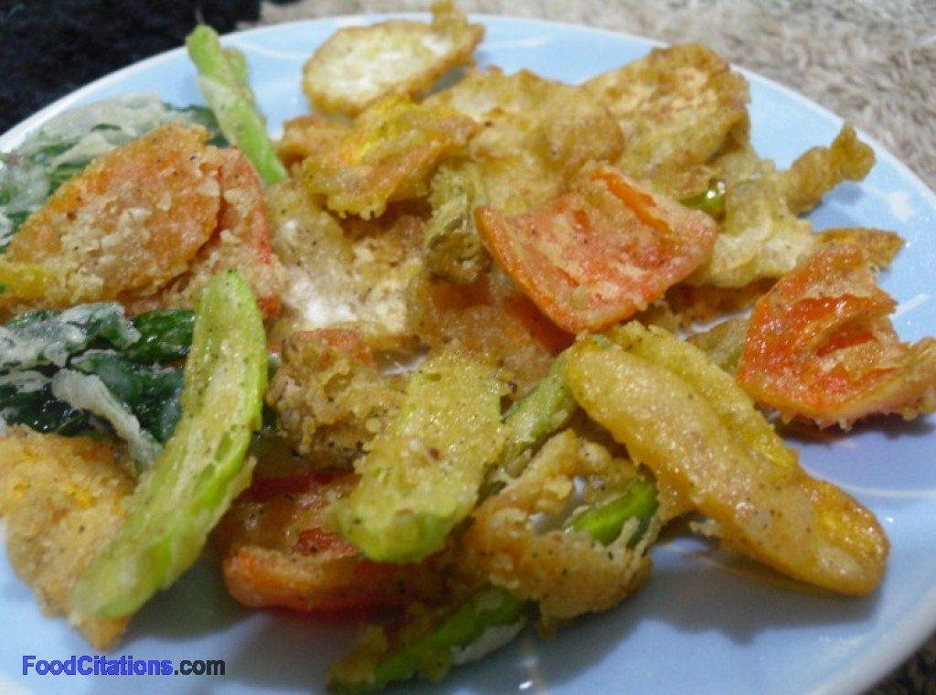 Vegetable Tempura 2