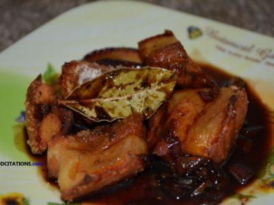 Adobong Lechong Kawali Recipe