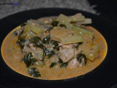 Spicy Ginataang Papaya Recipe