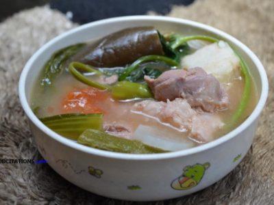 Sinigang na Baboy with Gabi Recipe