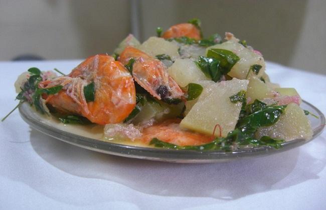 Hipon At Papaya Sa Gata Recipe