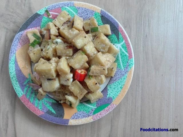 Tofu Sisig 2