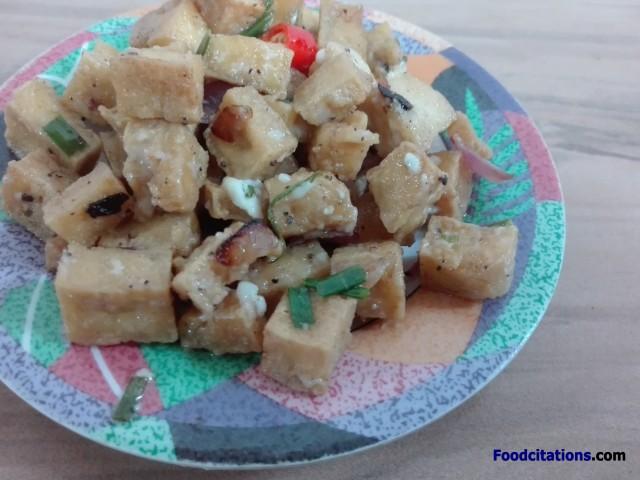 Tofu Sisig 3