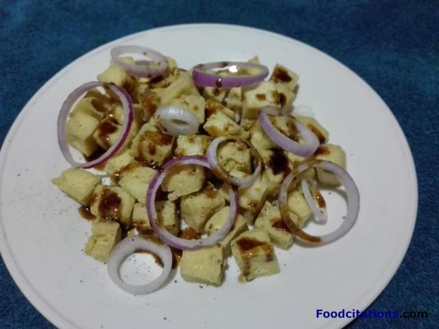 Simple Fried Tofu 3