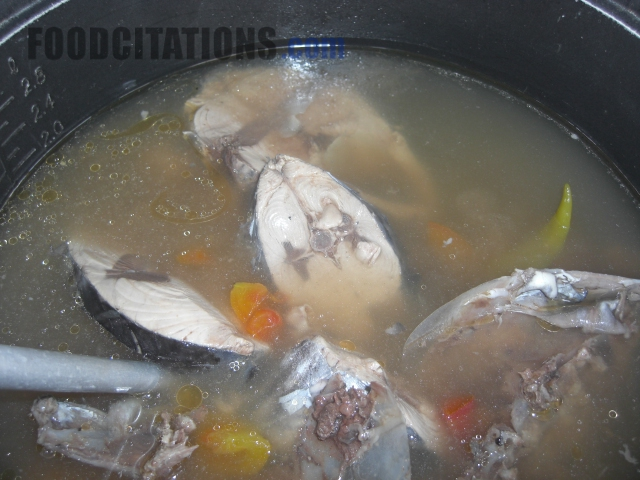 Sinigang-Yellowfin