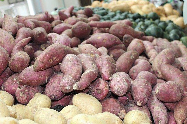 Foods For Glowing Skin - Sweet Potatoes