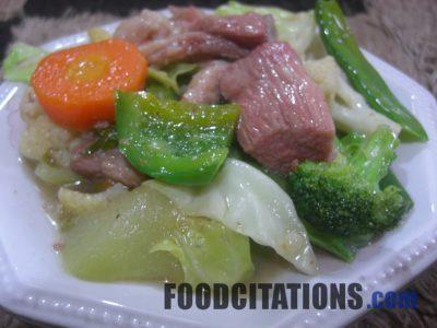 How to Make Chop Suey?