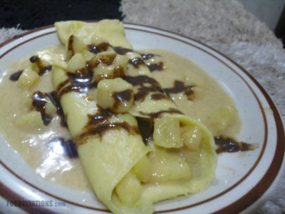 Crepe in Apple Sauce Recipe