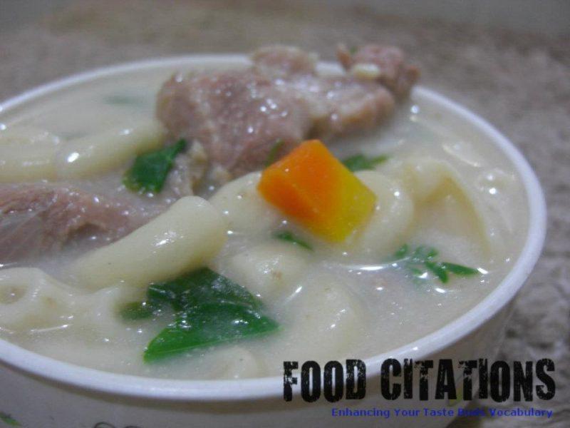 Creamy Macaroni Soup Recipe