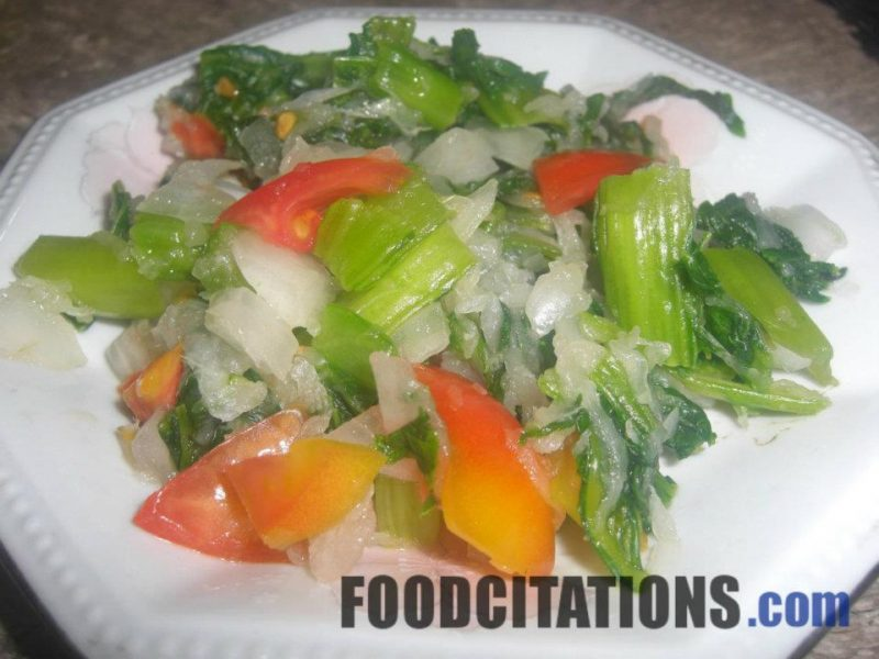Mustard and Radish Salad Recipe