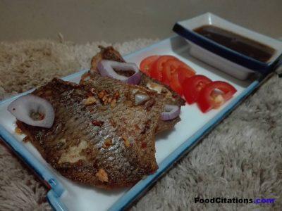 Tilapia Steak with Red Wine Sauce Recipe