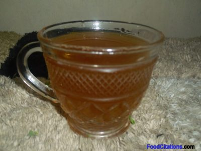 Malunggay Tea Recipe for the Sick