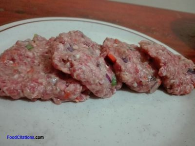 Beef and Pork Burger Patty Recipe