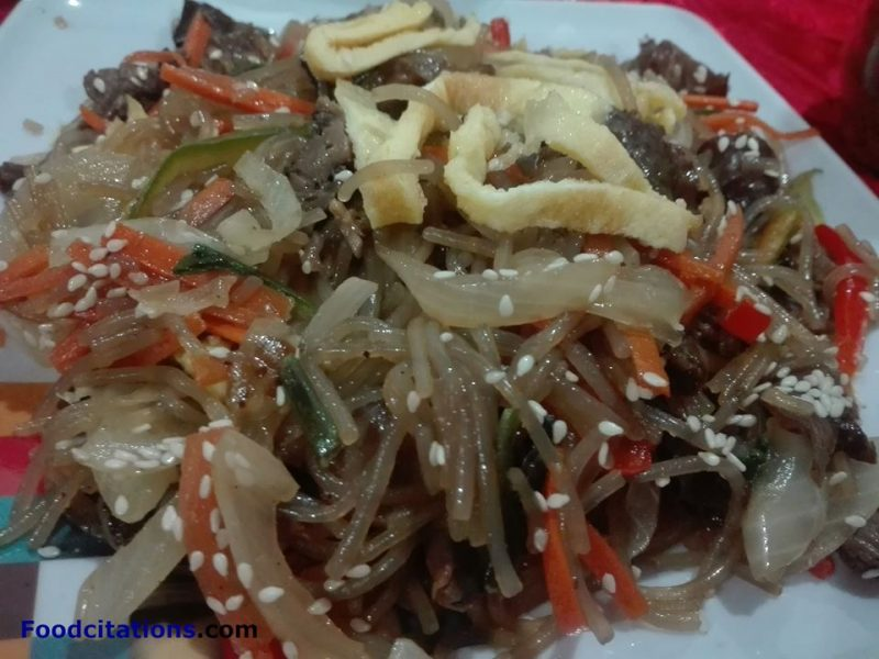 How To Make Japchae?