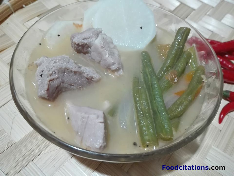Sinigang Na Baboy Sa Sampalok Recipe Food Citations