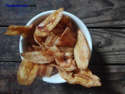 How to Make Banana Chips?