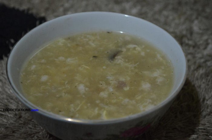 Tuyo Soup Recipe