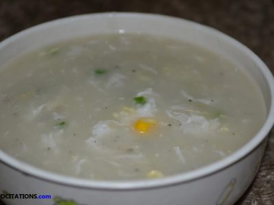 Crab and Corn Soup Recipe