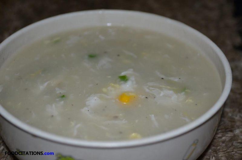Crab and Corn Soup Recipe