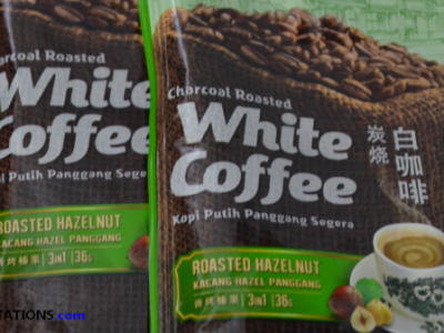 Food Find: Roasted Hazel Nut Coffee from Malaysia