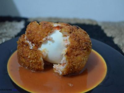 Egg Meatballs And Gravy Recipe