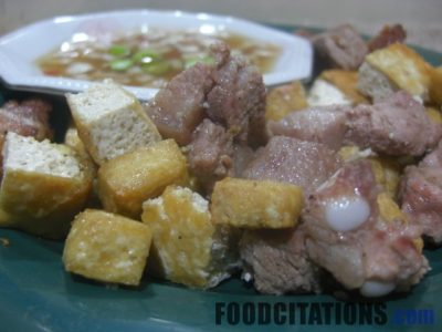 Tokwa't Baboy With Spicy Vinegar Recipe
