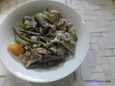 Ginisang Gulay With Giniling Recipe