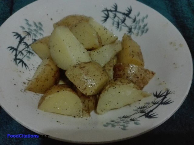 Simple Buttered Potatoes Recipe