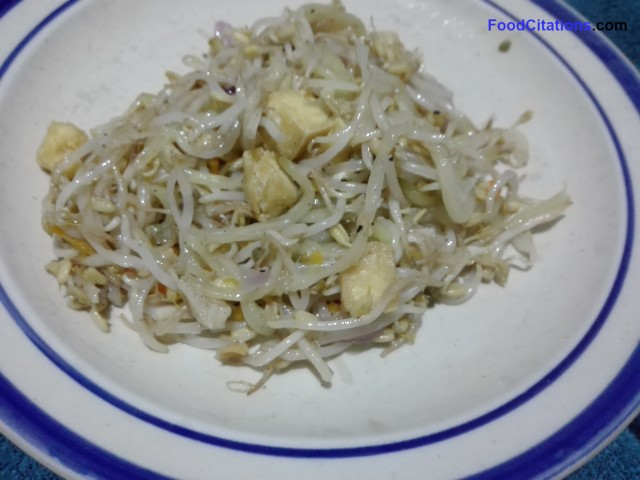Ginisang Togue Na May Tokwa Recipe