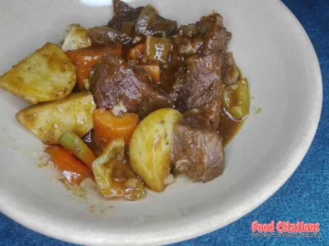 Beef Caldereta 1