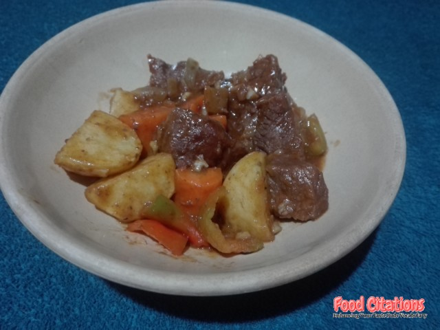 Beef Caldereta 3