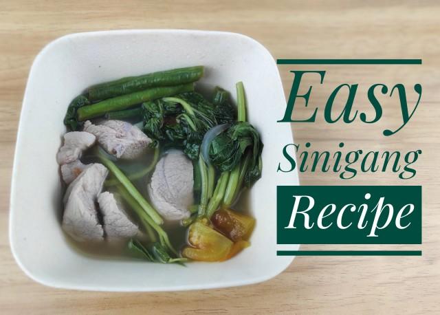 Easy Sinigang Recipe