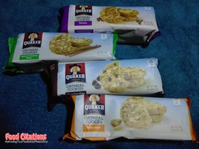 Food Find: Quaker Oatmeal Cookies Review