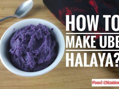 The Secret to Creamy and Delightful Ube Halaya