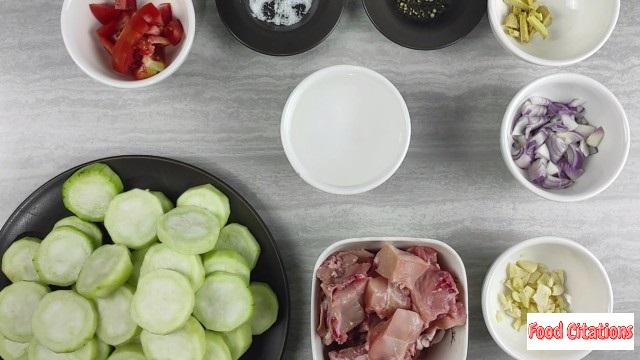 Ginisang Patola Ingredients1