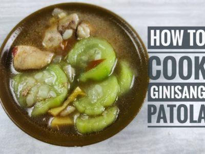 How to Cook Ginisang Patola?